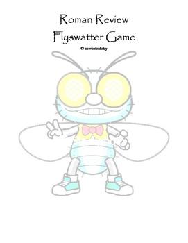 Roman Review Flyswatter Game
