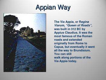 Roman Roads and Travel