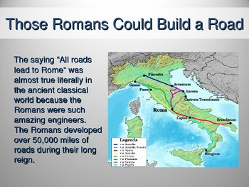 Roman Roads and Travel