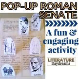 Roman Senate / Roman Empire Pop-up Activity