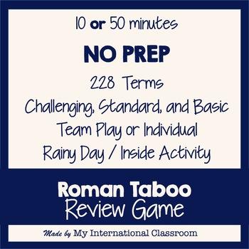 Roman Taboo Classroom Game