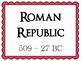 Roman Timeline Posters