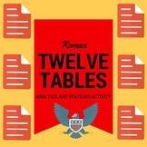 Roman Twelve Tables/ U.S. Analysis Activity