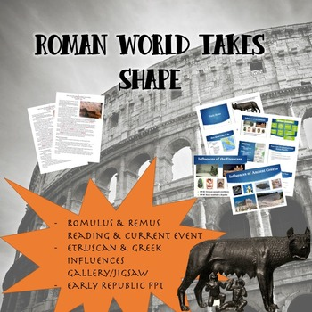 Roman World Takes Shape