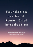 Roman values and founding myths
