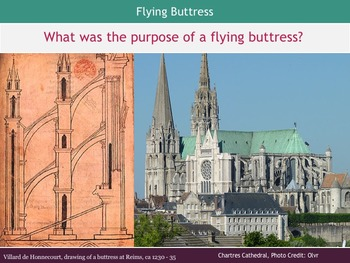 Romanesque and Gothic Architecture PowerPoint Lesson