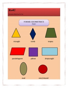 Romanian geometric shapes