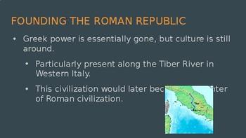 Romans, Africans, Americas PowerPoint Slides
