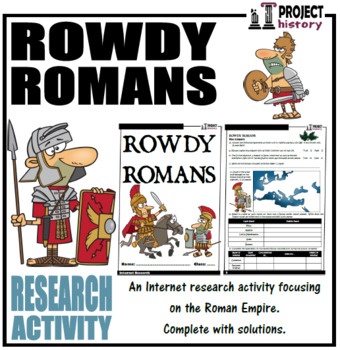 Romans Internet Research Activity
