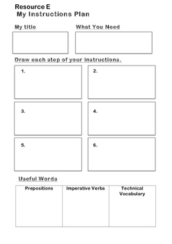 Romans Literacy Planning Pack - Instructions Unit Y3/4 (2nd/3rd Grade)