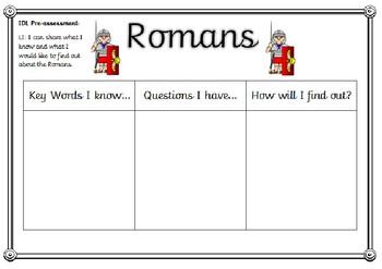 Romans Pre-assessment