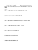 Romans Reading Comprehension Questions for Chapters 1-8