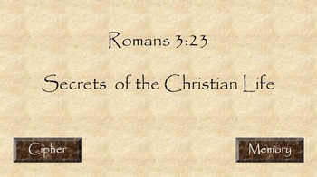 Romans Road Memory Powerpoint Activity Pack