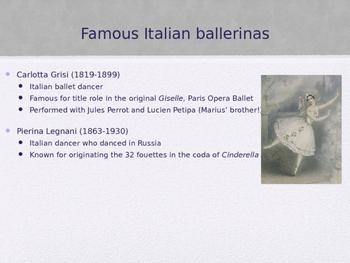 Romantic/Classical Ballet History