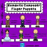 Romantic Composer Finger Puppets (for listening)