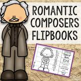 Romantic Composers Flipbooks