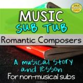 No Tech Music Sub Plans For Non Music Substitutes (Romanti