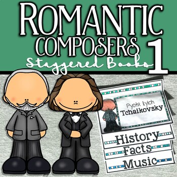 Romantic Composers Staggered Books
