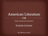 Romantic Era - Early American Literary Movement Series, part III