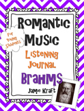Romantic Music Listening Journal: Brahms