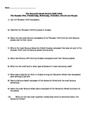 Romantic Music Period Composers TWO Worksheets with Answer Keys