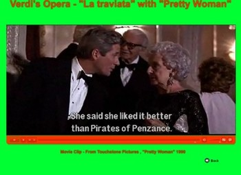 Romantic Music - Verdi's Opera by using  Pretty Woman - Bill Burton