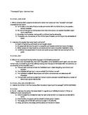 Romantic Period Poetry - Thanatopsis - Common Core Assessment