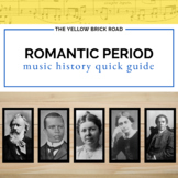 Romantic Period in Music History Quick Guide