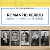 Romantic Period in Music History Quick Guide