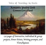 Romantic Poetry Unit-Common Core Aligned for 11th/12th grade