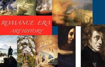 Romanticism & Romance Era in Art History - FREE POSTER