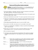 Romanticism Essay Questions and Detailed Rubic