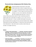 Romanticism: My Perfect Day Mini Homework Assignment