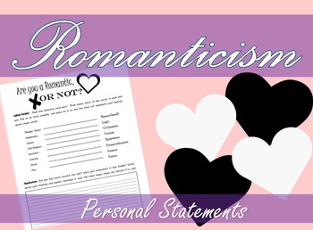 Romanticism Personal Statements