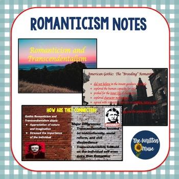 Romanticism Presentation
