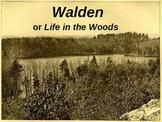 Romanticism:  The Transcendentalists:  Thoreau at Walden Pond.ppt