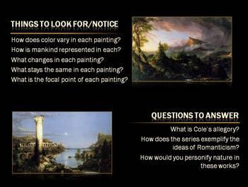 Romanticism in Art - Thomas Cole - Journal Exploration