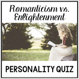 Romanticism vs. Enlightenment Era Personality Quiz