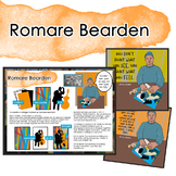 Romare Bearden Artist Quote, and Handout/Distance Learning Lesson