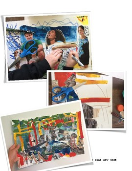 Romare Bearden Collage Lesson. History and Examples!