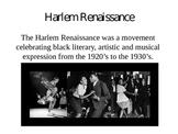 Romare Bearden / Harlem Renaissance Power Point