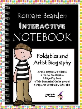 Romare Bearden - Interactive Notebook Foldables - Black History Month -The Block
