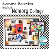 MEMORY COLLAGE-Worksheets, reflection guide, planning guid