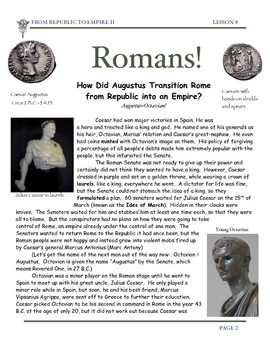 Rome: Augustus Caesar Rules the Roman Empire by Don Nelson