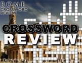 Ancient Rome Crossword Puzzle Review