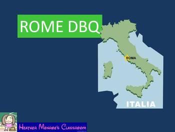 Rome DBQ