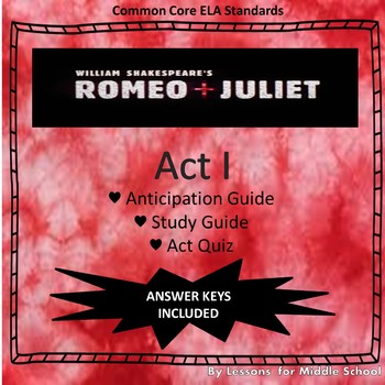 Rome & Juliet: ACT I