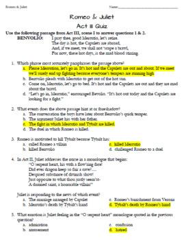 Rome & Juliet: ACT III