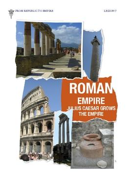 Rome: Julius Caesar Creates the Roman Empire by Don Nelson