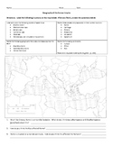 Rome Map Activity